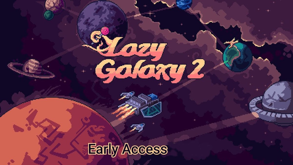 lazy galaxy 2 base building rts game releases in aarly access on linux mac windows pc