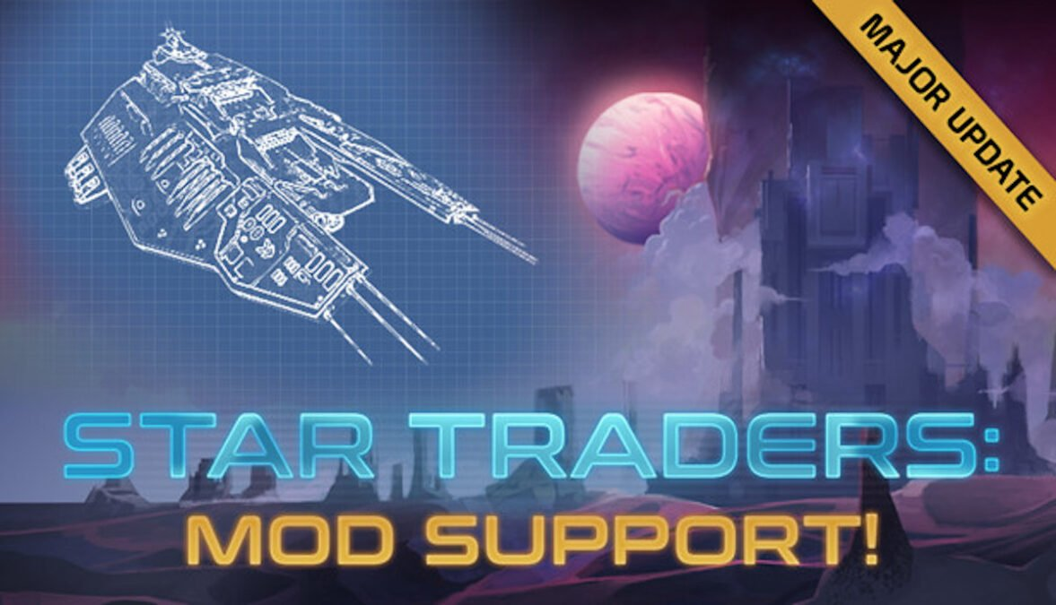 star traders: frontiers space sim rpg game adds mod support for linux mac and windows pc