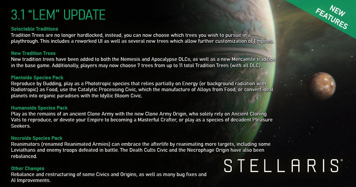 3.1 lem update details for stellaris