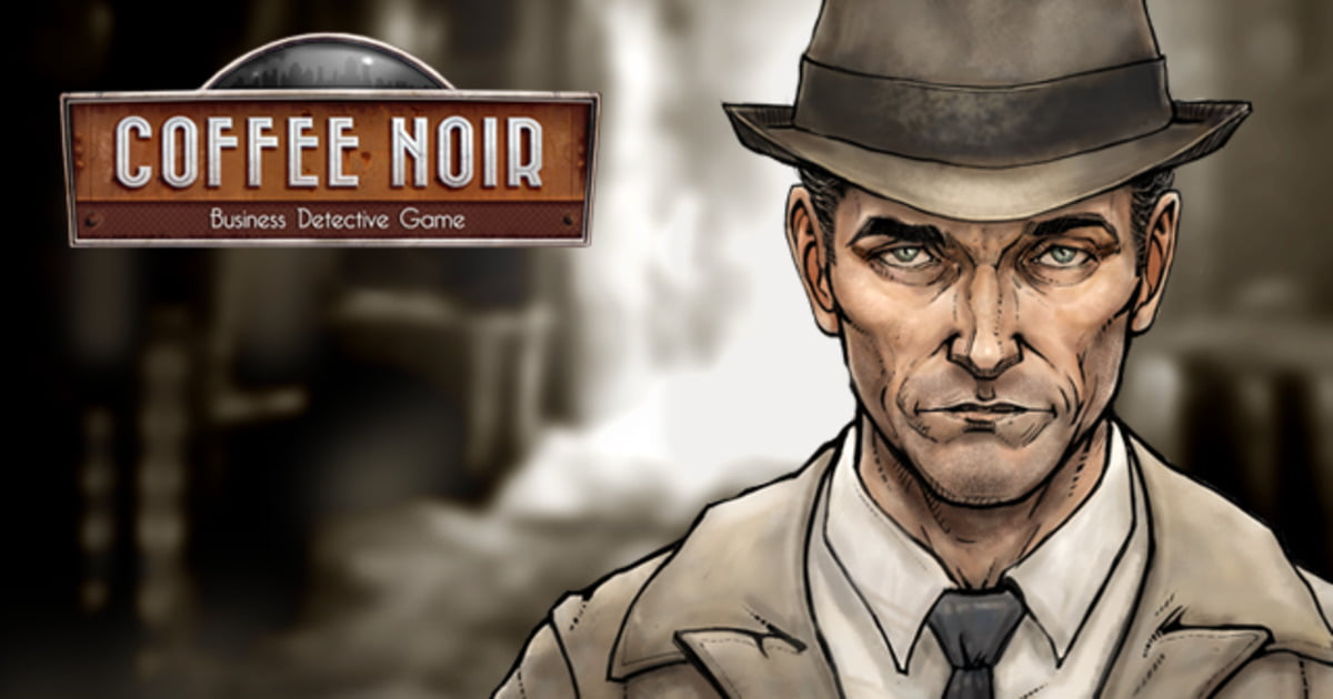 coffee noir visual novel tycoon mash-up game due to release on linux mac and windows pc