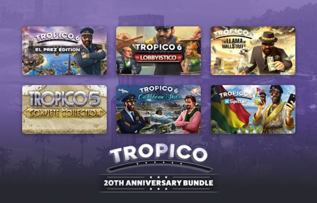 happy 20th birthday tropico bundle worth a look game support for linux mac windows pc