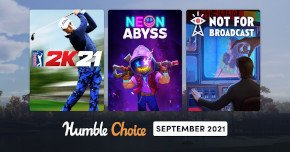 What games are in the Humble Choice September 2021 bundle