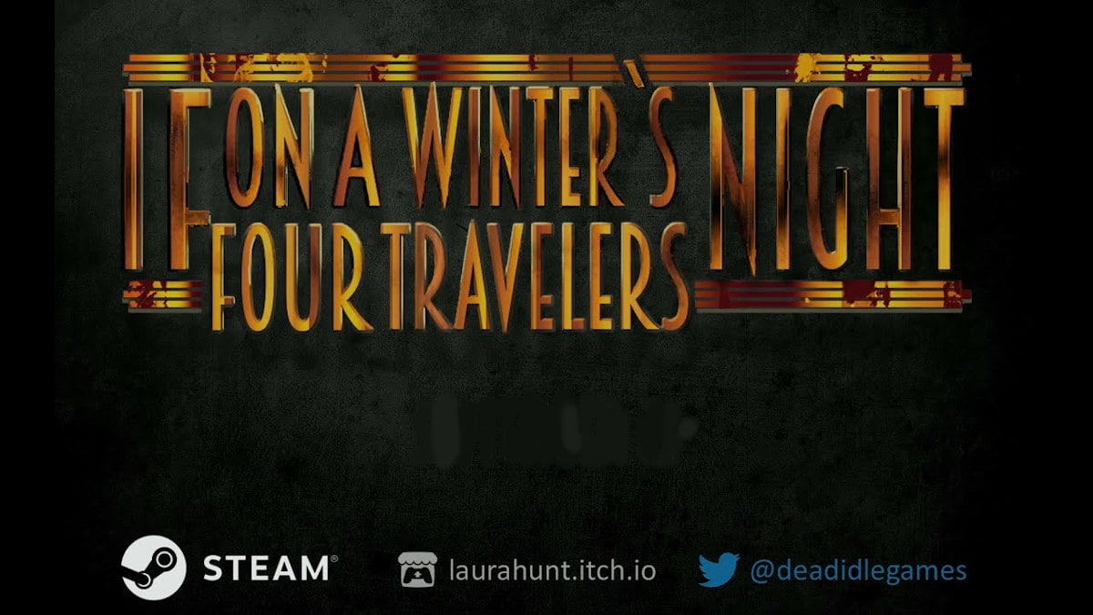 If On A Winter's Night Four Travelers game releases free on both linux and windows pc