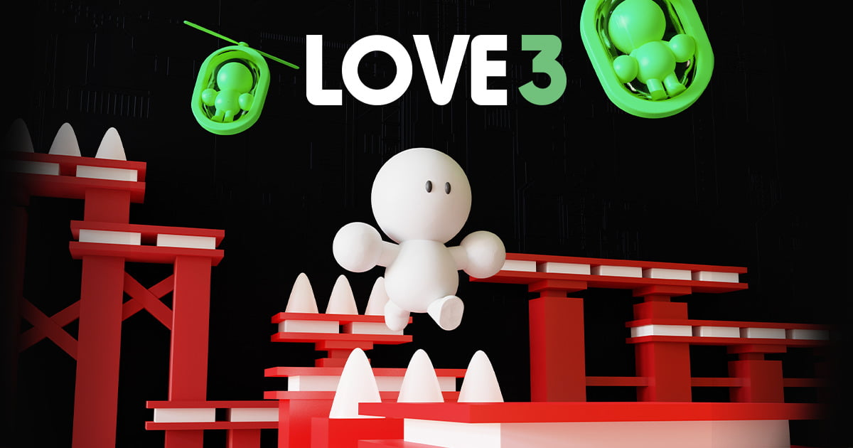 love 3 precision platformer game to release this december to linux and windows pc