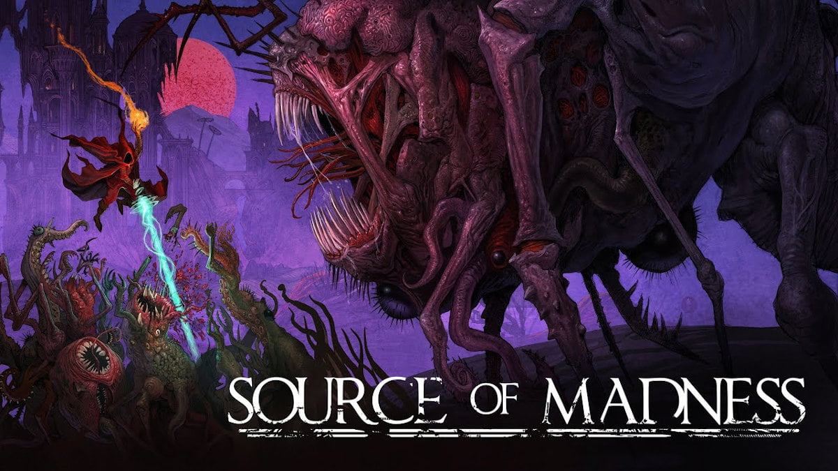 source of madness dark action roguelite game holds hope for linux with windows pc