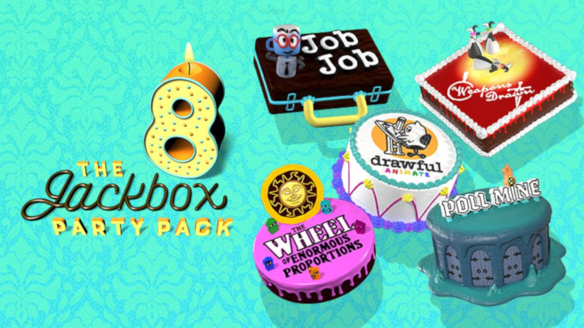 the jackbox party pack 8 party game release due next month on linux mac and windows pc